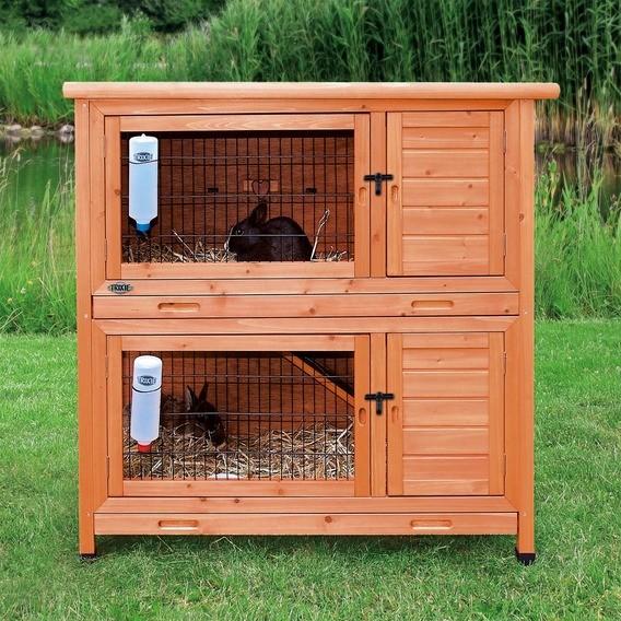 Trixie klatka dla królików 2 piętra 116x111x65 cm