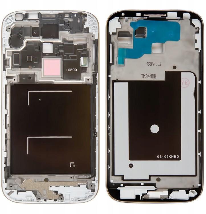 Samsung Galaxy S4 I9500 Ramka LCD Srebrna