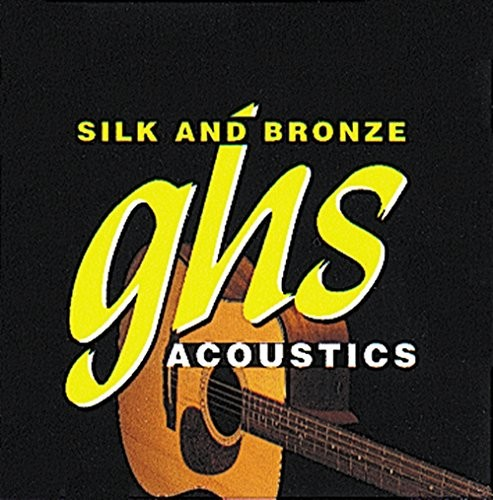 GHS SILK & BRONZE - zestaw strun do gitary akustycznej - 370 - regularny - 011/049 GHS370