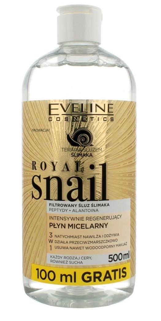 EVELINE Eveline Royal Snail Płyn micelarny intensywnie regenerujący 3w1 500ml 088321