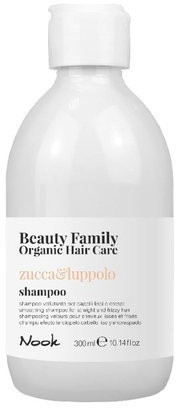 Organic Surge MAXIMA NOOK Nook Beauty Family Hair Care zucca & luppolo szampon 300ml