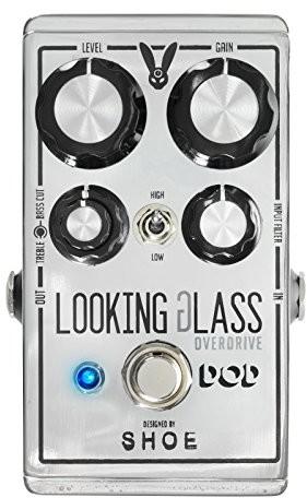 DOD wyglądający szklany pedał Overdrive Looking Glass