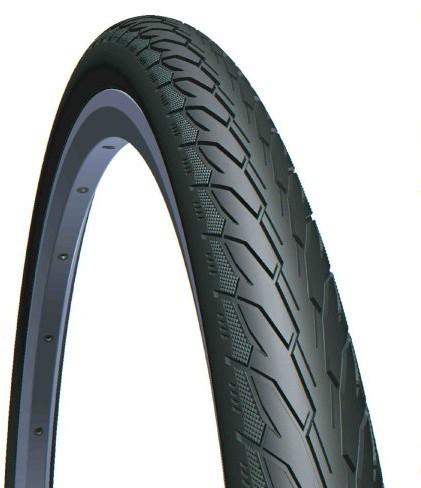 RUBENA Flash rower opony, czarna, 28