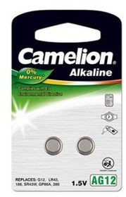 Camelion Bateria LR43 2szt 12050212