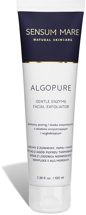 Sensum Mare ALGOPURE delikatny peeling  maska enzymatyczna o działaniu oczyszczającym i wygładzającym. 100 ml