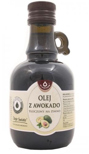 Oleofarm Olej z awokado tłoczony na zimno - 250ml 05597