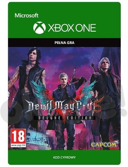 Devil May Cry 5 Deluxe (GRA XBOX ONE) wersja cyfrowa