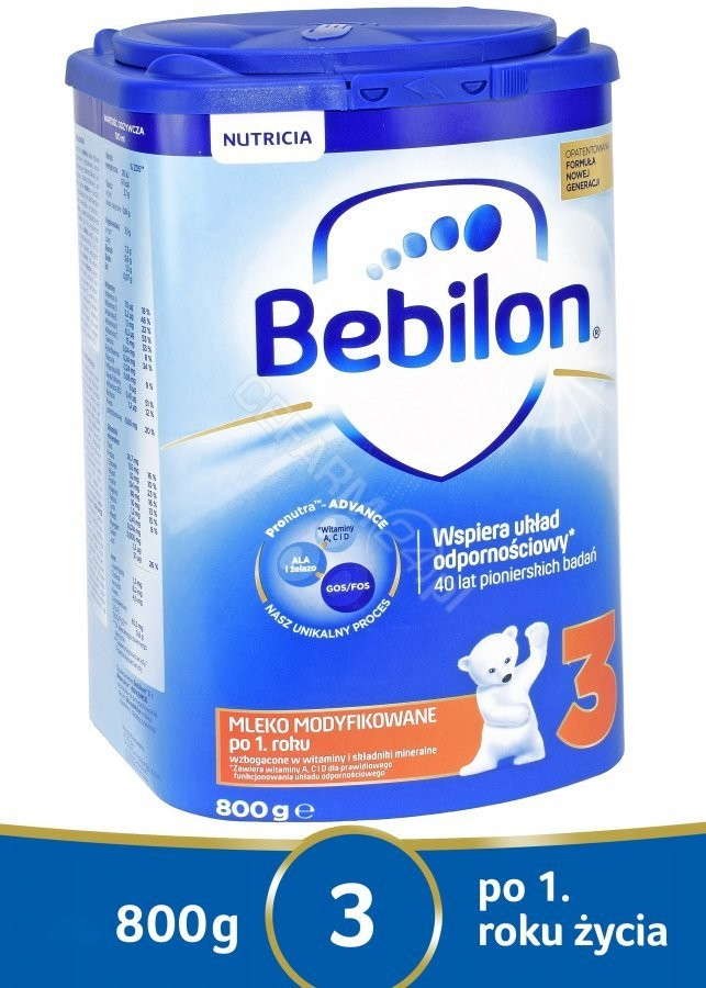 Bebilon Junior 3 z Pronutra 800g
