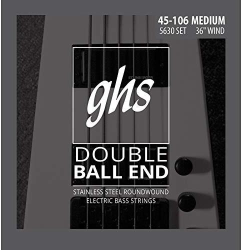 GHS 5630 46-106 Medium Bass Double Ball End zestaw strun 5630