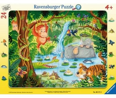 Ravensburger Puzzle 24 elementy W dżungli