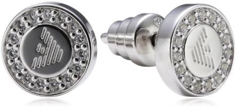 Emporio Armani kolczyki damskie 925 srebro wysokiej próby eg3053040 EG3053040