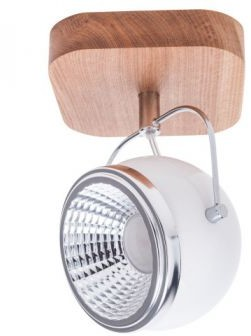 Spotlight BALL WOOD reflektor 1x5W LED biały 5032174