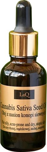 Laq Laq Olej Z Konopi Siewnych Kosmetyki Naturalne 30 ML