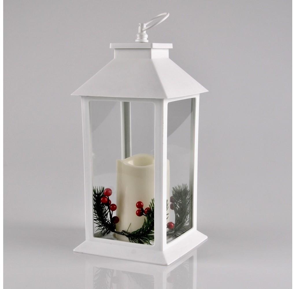 IL MIO Lampa POLUX latarenka LED biała świeca i dekoracja 312785