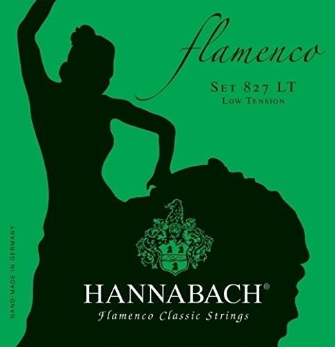 Hannabach Klassik Gita rrensaiten Serie 827Low Tension Flamenco ClassicA5