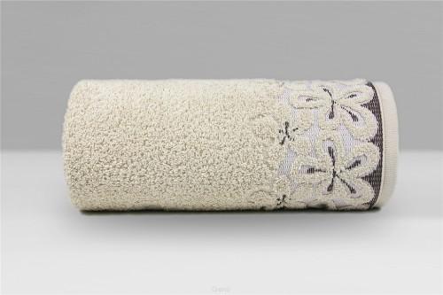 Greno Ręcznik Bella 50x90 cm beżowy 5905164109826