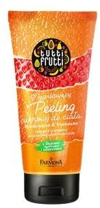 Tutti Frutti Tutti Frutti Pomarańcza&Truskawka nawilżający peeling cukrowy do ciała 210 g