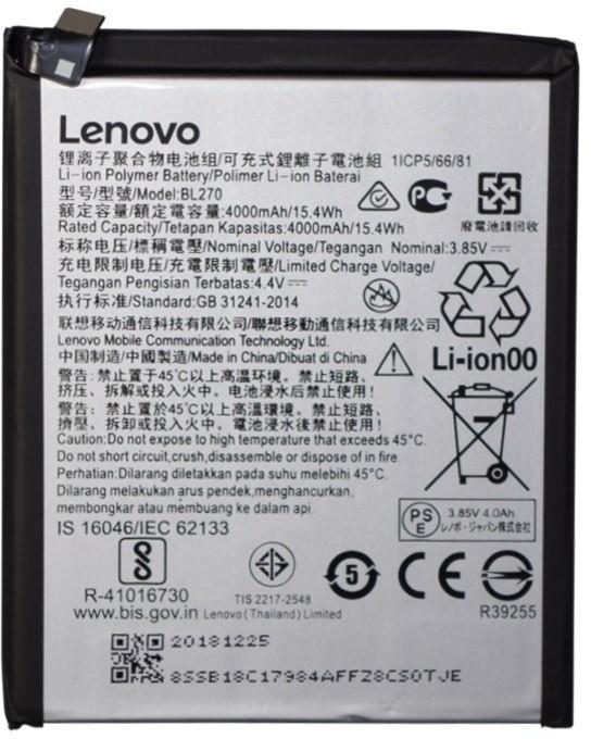 Lenovo Bateria do K6 Note BL270 4000 mAh BL270