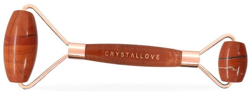 Crystallove Crystallove Masażer do twarzy z Jaspisu Czerwonego Akcesoria do pielęgnacji