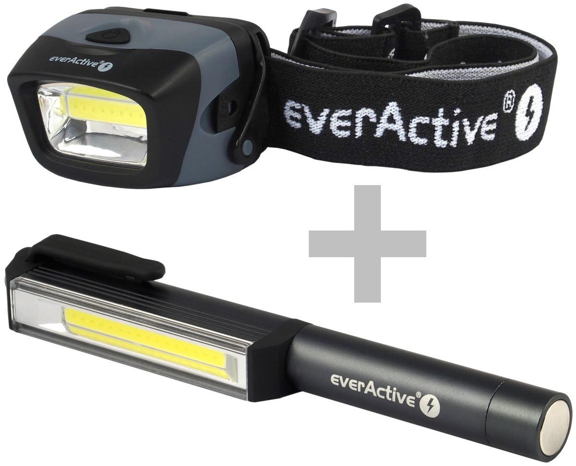 everActive zestaw latarek HL-150 + WL-200