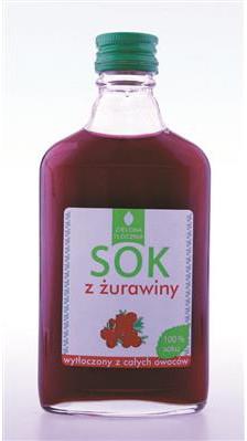 BadaPak Sok z żurawiny 200ml bez dodatków cukru i konserwantów 12 szt.