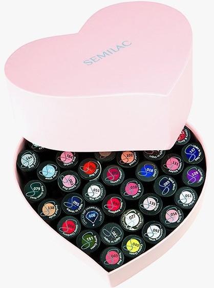 Semilac Diamond Cosmetics Heart Box