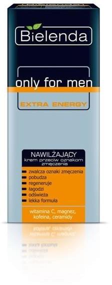Bielenda Bielenda Only For Men Extra Energy nawilżający krem przeciw oznakom zmęczenia 50ml