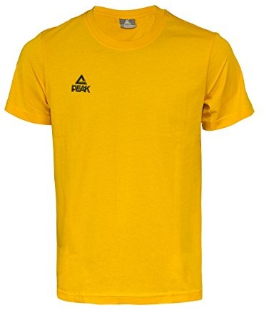 Peak Sport Europe PEAK Sport Europe T-Shirt logo, żółty, XS 20126_Gelb_XS
