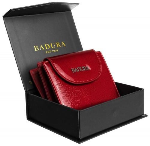 Badura BADURA portfel damski skórzany mały 99524