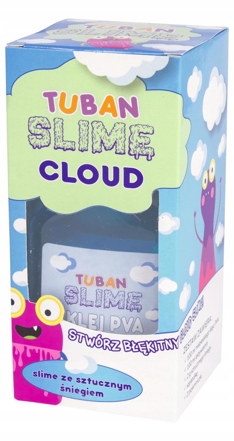 Tuban Slime ze sztucznym śniegiem Stwórz błękitny