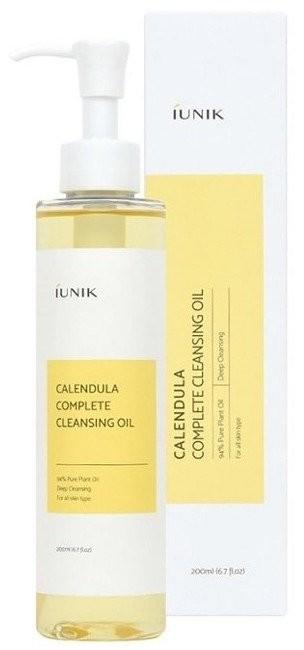 iUNIK IUNIK Calendula Complete Cleansing Oil Olejek do Demakijażu z Ekstraktem z Nagietka 200ml