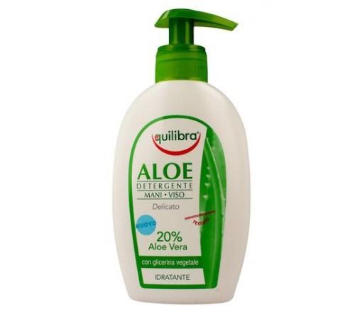 EQUILIBRA Aloesowy żel oczyszczający do twarzy i rąk - Equilibra
