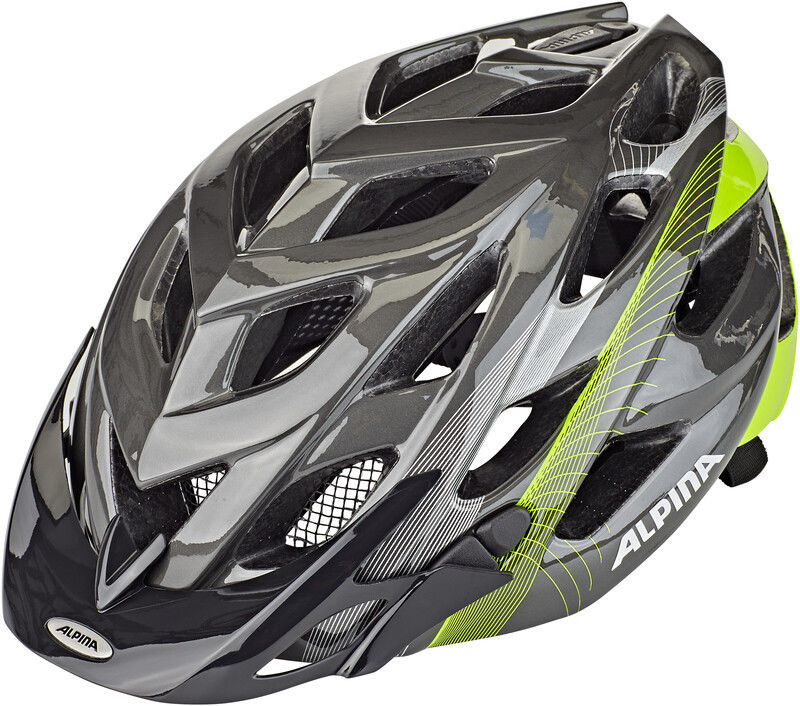 Alpina D-Alto Kask rowerowy, anthracite-neon lines 52-57cm 2020 Kaski MTB A9634 1 74