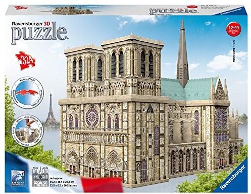Ravensburger 12523 Notre Dame 3d puzzle