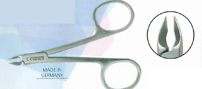 Peggy Sage Ergonomiczne nożyczki do skórek 9 cm (ref.300017)
