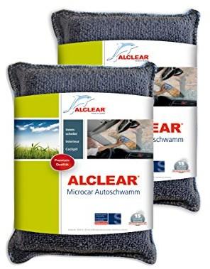 ALCLEAR gąbka samochodowa, wielokolorowy 950014_2