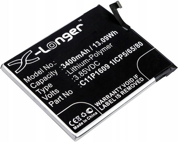 Asus Bateria C11P1609 Do Zenfone 3 Max 5.5 - 4 Max