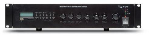 FBT Audio Contractor MDS-1240 wzmacniacz mocy linii 100V z odtwarzaczem MP3