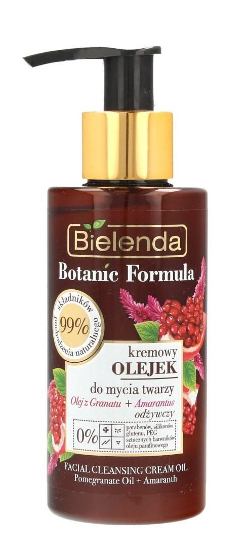 BIELENDA Bielenda Botanic Formula Olej z Granatu+Amarantus Kremowy Olejek odżywczy do mycia twarzy 140ml 132197