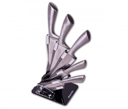 Kamille Komplet noży w bloku akrylowym 6 el. 5131