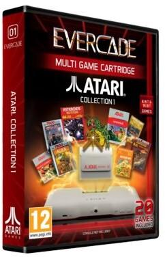 ATARI EVERCADE Zestaw gier do konsolki EVERCADE 1 FG-BEA1-ACC-EFIGS