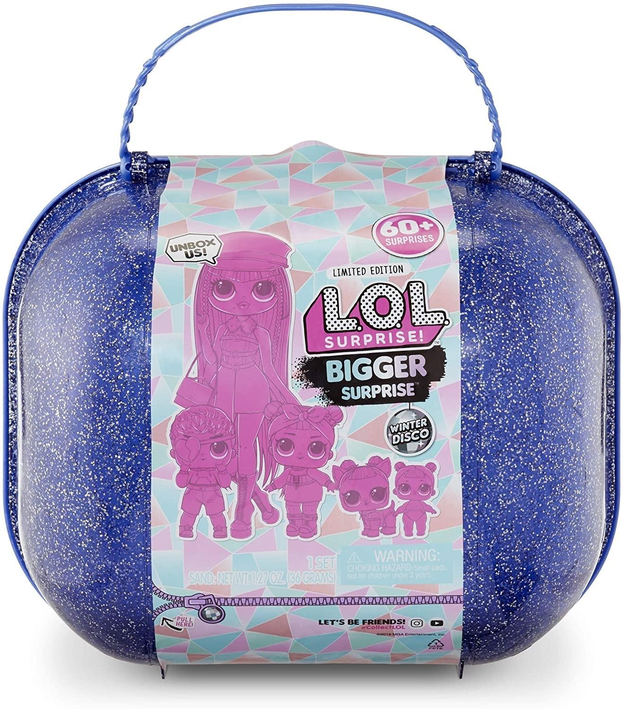 LOL Surprise LOL Bigger Winter Disco Surprise Walizka 117315 0000043434