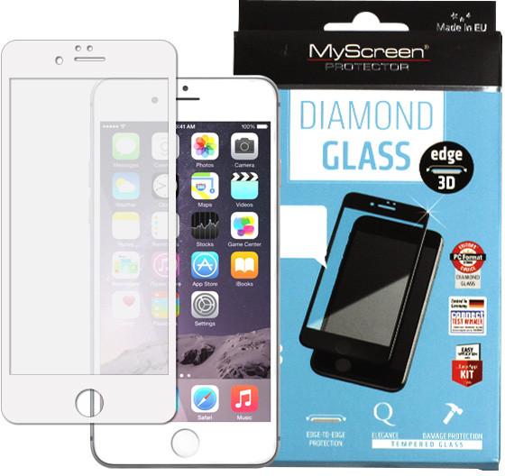 Etuo.pl MyScreen Protector - Apple iPhone 6 Plus - szkło hartowane MyScreen Protector FullScreen Glass - białe FOAP139FSGLWHT000