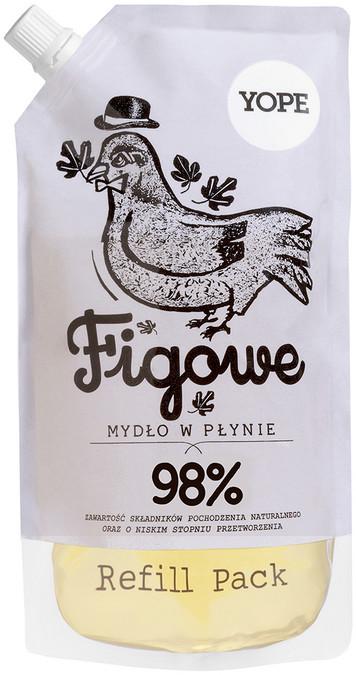 YOPE REFILL Naturalne Mydło w płynie Figa 500 ml 800-002875