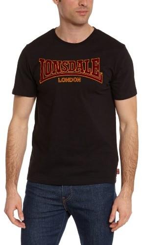 Lonsdale męska koszulka z długim rękawem T-Shirt klasyczny SlimFit, kolor: czarny , rozmiar: xl T-Shirt Classic