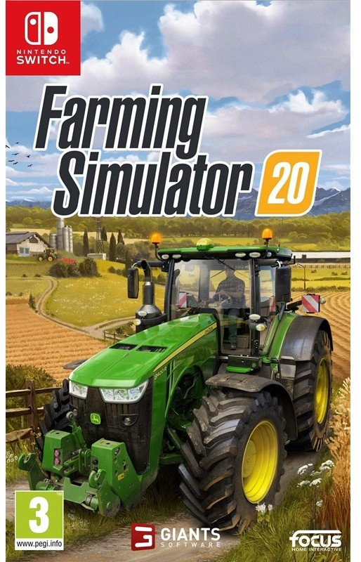 Farming Simulator 20 (GRA NINTENDO SWITCH)
