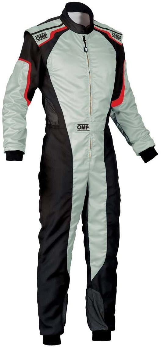 OMP Racing Kombinezon kartingowy KS-3 MY19 szary (Homologacja CIK FIA) KK0172708948