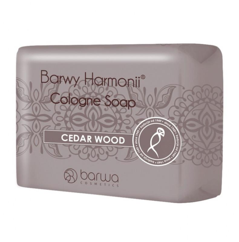 Barwa Cologne Soap - CEDAR WOOD - Cedrowe mydło w kostce BARSWMKO