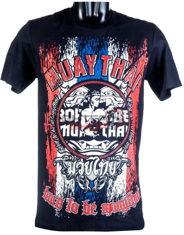 Born to be Muay Thai T-shirt męski MT-8012 Born to be Muay Thai