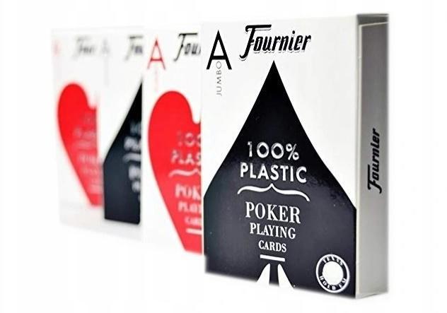 Fournier Jumbo Poker 100% plastik
